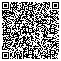 QR code with D & S Concrete Inc contacts