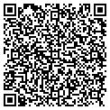 QR code with V & R General Contractors contacts