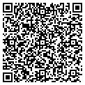 QR code with M & M Charters contacts