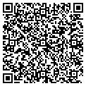 QR code with M & D Frameworks contacts