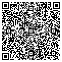 QR code with S & S Service contacts