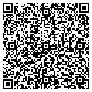 QR code with P R Repair contacts