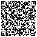 QR code with J & F Pull Tab Distributors contacts