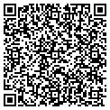 QR code with R & J Seafoods contacts