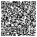 QR code with M & D Trucking contacts