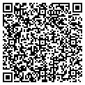 QR code with K & B Recycling contacts