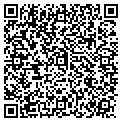 QR code with A M Tile contacts