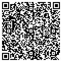 QR code with J & H Power Washing contacts