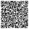 QR code with F & R Mini Storage contacts