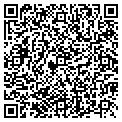 QR code with C & M Muffler contacts