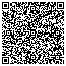 QR code with P J Marine Inc contacts