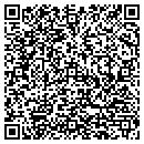 QR code with P Plus Contractor contacts