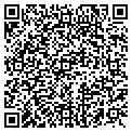 QR code with P M & E Service contacts