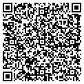 QR code with J & D Carpet & Upholstery contacts