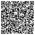 QR code with B X Salon contacts