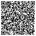 QR code with K & M Import Car Service contacts