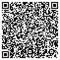 QR code with B & Z Grocery contacts