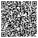 QR code with B & R Custom Sewing contacts