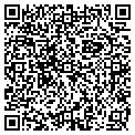 QR code with R & S Extracters contacts