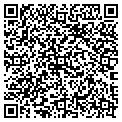 QR code with M & J Plumbing and Heating contacts
