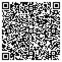 QR code with B & R Transmission contacts
