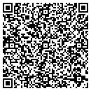 QR code with J R's Appliance Service & Repair contacts