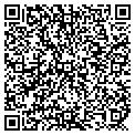QR code with C & J's Sugar Shack contacts