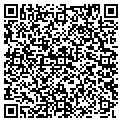 QR code with B & E Landscaping & Excavation contacts