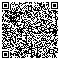 QR code with P & M Garden Services Inc contacts