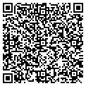QR code with C & R Fine Woodwork Inc contacts
