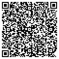 QR code with M & H Variety Store contacts