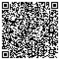 QR code with R & R Cleaners contacts