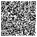 QR code with DHK Wholesale contacts