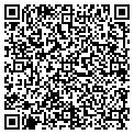 QR code with B & G Heated Mini Storage contacts