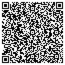 QR code with B & G Movers contacts
