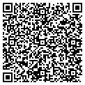QR code with B & R Communications contacts
