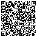 QR code with E & B Blinds & Decor Corp contacts