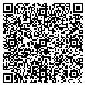 QR code with B & C Raingutters contacts