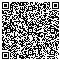 QR code with P M Creations contacts
