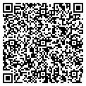 QR code with P & K Sportswear contacts