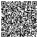 QR code with D & E Auto Sales contacts