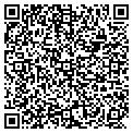 QR code with M & B Refrigeration contacts
