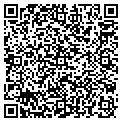 QR code with J & W Plumbing contacts