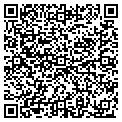 QR code with K & B Janitorial contacts