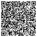 QR code with F & G Realty contacts