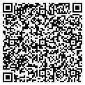 QR code with S & J Agee Enterprises Inc contacts