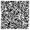 QR code with B & B T-Shirts contacts