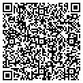 QR code with J & B Party Center contacts