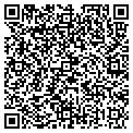 QR code with J & E Sign Banner contacts