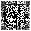 QR code with M & B Plumbing & Heating contacts